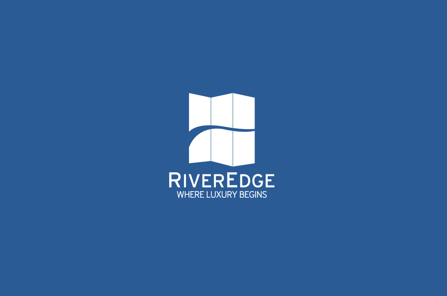 river edge logo design